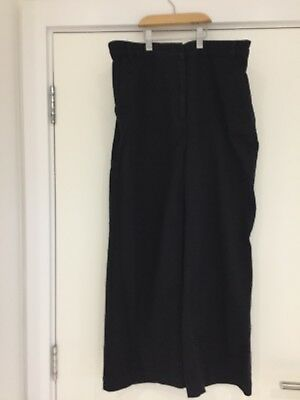 Toast black trousers size 14