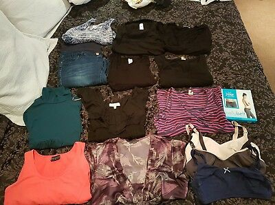 maternity clothes size 10-12 x 15 pieces. pea in a pod