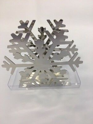 Napkin Holder Snowflake Christmas Gift Decoration
