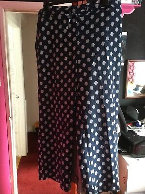 Cullottes Style Wide Trousers
