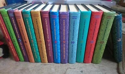 LEMONY SNICKET HARDBACK A Series of Unfortunate Events 1-13 and autobiography