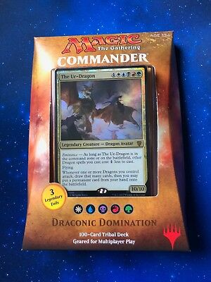 MTG Commander 2017 Deck - Draconic Domination Brand New Sealed - EDH