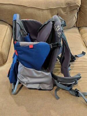 Phil & Teds Parade Child Backpack Carrier Blue / Grey - NEW - Ships in 24 hrs