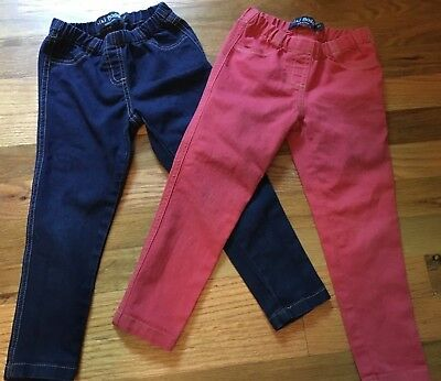 Mini Boden Toddler Girl's Lot of 2 Jeggings Size 4 Year 4T