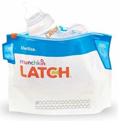 Munchkin Latch Microwave Steriliser Bags 6 Pack
