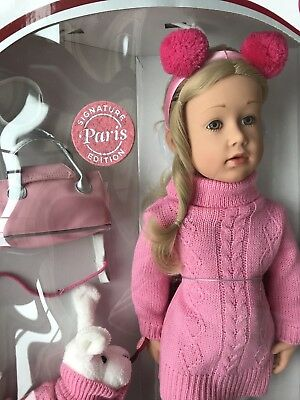 Gotz LIMITED EDITION ANNA PARIS Doll TOTALLY SOLD OUT !!