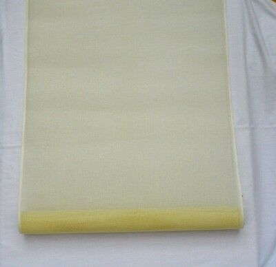 Tapestry Canvas Pale Yellow Mono Thread 22 Hpi 2.78 Metres 58Cm 23Inches Wide