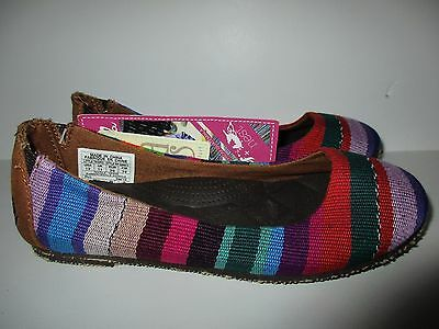 Reef Little Tropic Slip On Canvas Shoes Girls sz 1 NEW