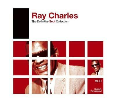 RAY CHARLES - The Definitive Soul Collection - 2 CD Set !!