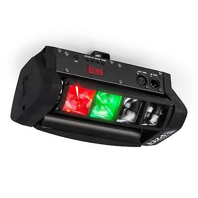 ibiza LED8-Mini-Spider LED-lichteffect DMX Incl. Montagebeugel