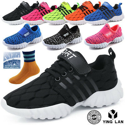 Children Shoes Boys Girls Sneakers Running Sport Casual Breathable Shoes Top