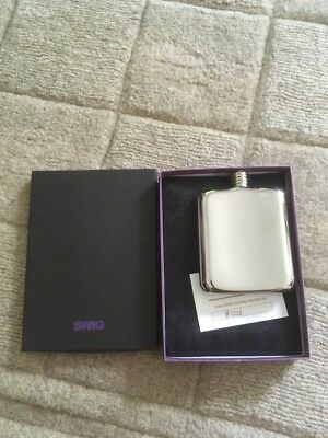 Swig Naked Hip Flask New
