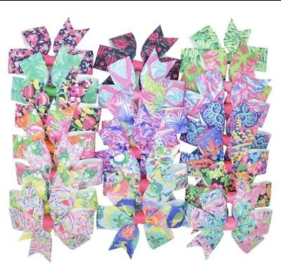 Lot Of 20 Lilly Pulitzer Bows