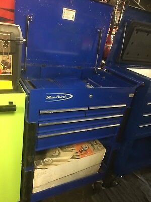Blue Point Tool Cart >> Blue Point 4 Drawer Tool Cart On Wheels 315 00 Picclick