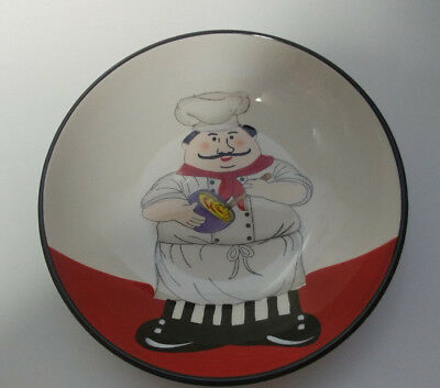 Vintage ND Hand Painted Chef bowl