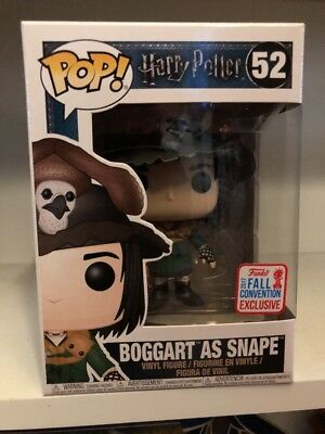 Funko Pop Harry Potter BOGGART AS SNAPE Hot Topic NYCC Convention Exclusive 2017