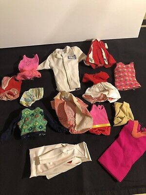 Lot Of Vintage Skipper Barbie Clothes Some with Black/White Labels