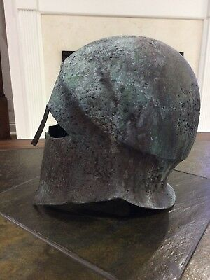 Bronze Ancient Greek Helmet Museum Quality Replica Reproduction