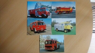 Fire Engine postcards