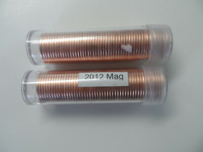 2012 Canada 1 Cent Penny Polls I Each Magnetic And Non Magnetic Last Year Mint