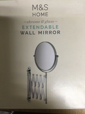 M&S Extending Wall Mirror