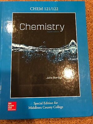 Chemistry by julia burdge fourth edition