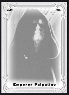 Topps Star Wars Card Trader Galaxy Nouveau Wave 2 Emperor Palpatine