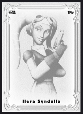 Topps Star Wars Card Trader Galaxy Nouveau Wave 1 Hera Syndulla