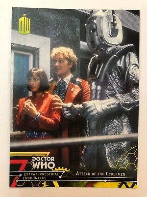 2016 Doctor Who Extraterrestrial Encounters #65 Attack of the Cybermen YELLOW