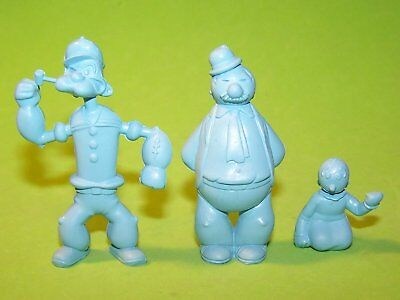 RARE! MARX 1950's 60MM POPEYE, SWEET PEA, AND WIMPY MINT CONDITION