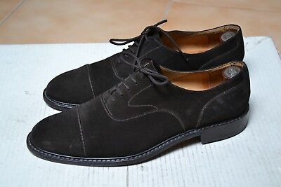 Scarpe MADE IN ITALY N.43 UK9 Made in ITALY HANDMADE Stringate Brown Fatte a man