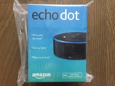 Amazon Echo Dot 2nd Generation w/ Alexa Voice Media Device - Latest Version @NEW