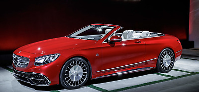 2017 Mercedes-Benz S-Class Maybach S650 Cabriolet Limited Edition Maybach S650 Convertible in Red. 1/300 Limited Edition Worldwide. Spectacular!!!