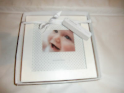 NEW Mothercare  Baby Photoframe in Box