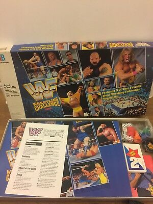1991 MB GAMES WWF WRESTLING CHALLENGE BOARD GAME REPLACEMENT
