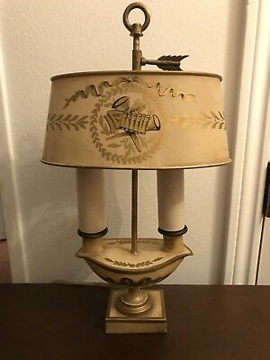 Vintage French Boillotte Lamp