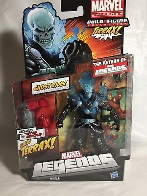 MARVEL LEGENDS Blue Flame Ghost Rider (CIB)