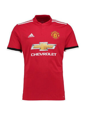 Manchester United 2017/18 Home Shirt Adidas Small
