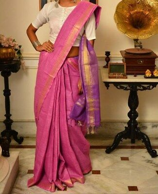 Handowen Cotton Silk Saree