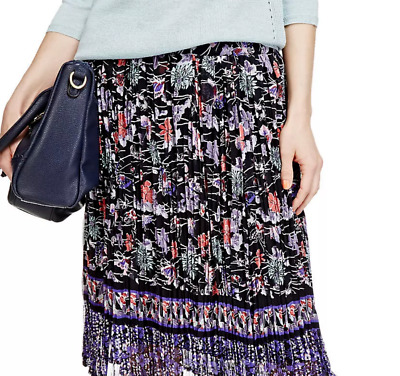 """M/&S Collection Size 12 Pull On Soft Viscose Jersey Skirt with Stretch New 27/""""L"""