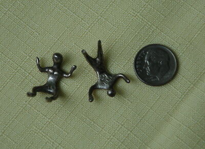 Figurines (2) MCA Sterling 925 Man Woman Minatures