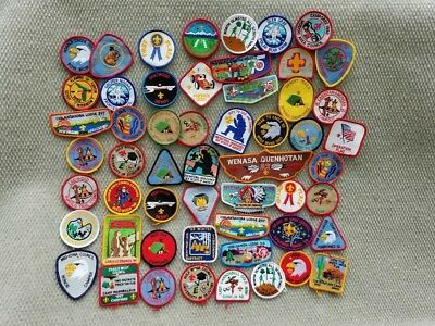 50 Boy Scouts Of America Embroidered Patches