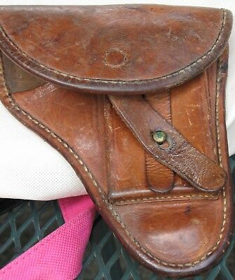 Vintage leather holster for WALTHER PPK Pistol WWII? GERMAN