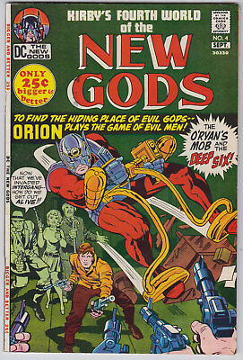 New Gods 4 VFN-NM  Kirby