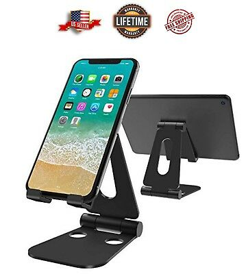 Heavy Duty  Desktop Desk Mount iPhone Cell Phone Tablet iPad Stand Holder