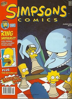 Simpsons Comics Issue 64 March 2002