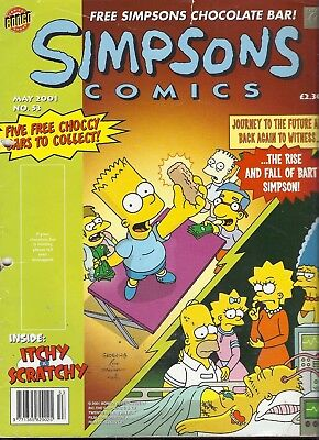 Simpsons Comics Issue 53 May 2001