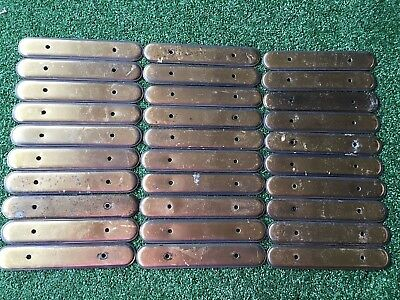Backplates Handle Covers Antique Brass Look for Drawers Cabinet Retro Vintage