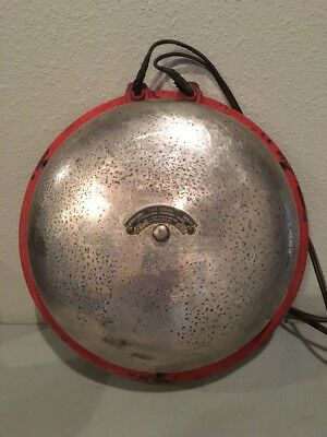 "Antique ""The Ideal"" Alternating Current Gong Electric Fire/Alarm Bell Works!"