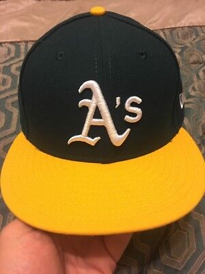 9c61628ed85 ... amazon new era oakland athletics home 59fifty fitted hat green yellow mlb  cap 7 24929 6fa5f